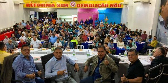 Debate no Sintraconst-Rio sobre reforma da Previdência