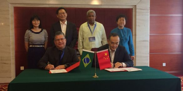 encontro Bilateral - China e Brasil