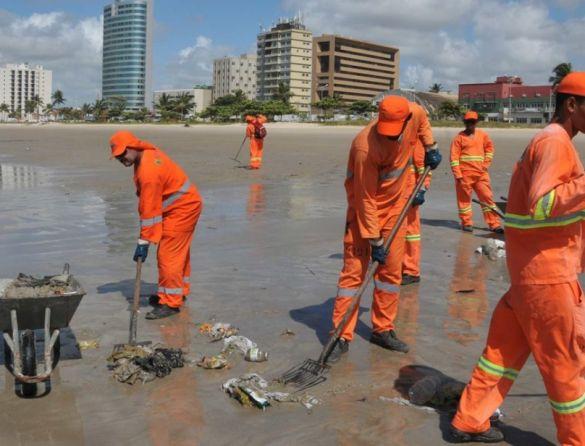 limpeza urbana PE