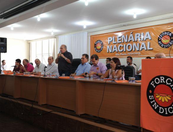 Plenária da Força Sindical apoia regulamentação da terceirizaçãoDSC_4557