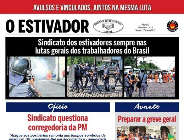Repressão no porto - Sindicato dos estivadores de Santos aciona corregedoria da PM