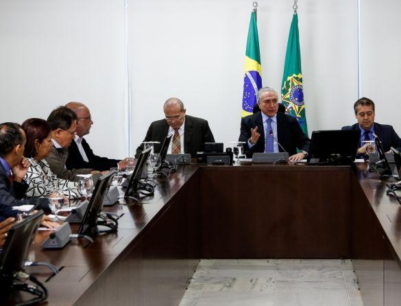 Temer_centrais - Marcos CorrêaPR
