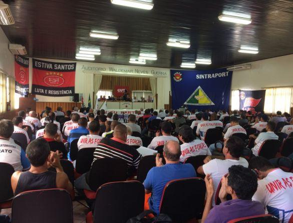 Nesta quarta, em Santos, será fundada nova federação nacional de portuários