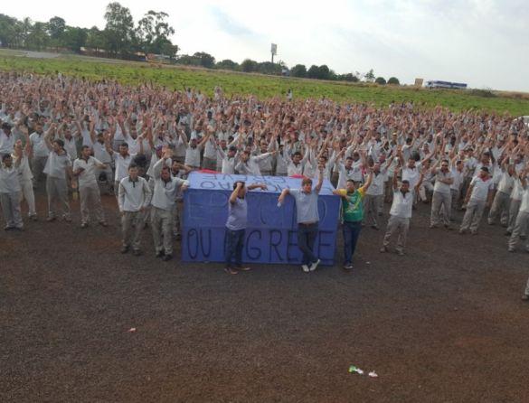 Metalúrgicos da Mitsubishi, em Catalão/GO, mantém greve