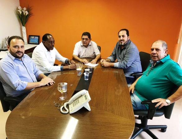 Encontro  entre dirigentes da Força Sindical e da UNTA Angola