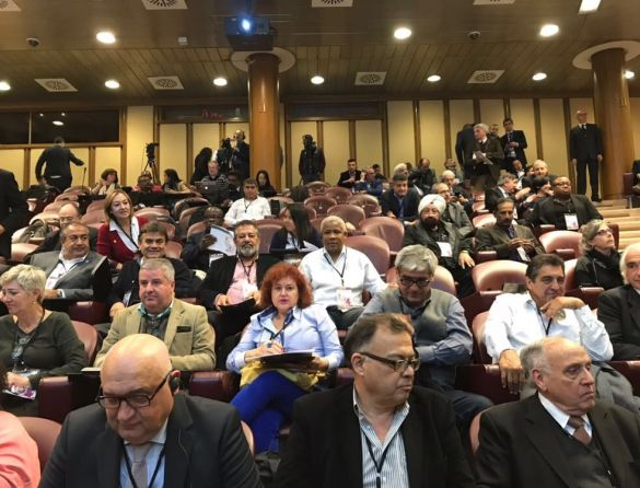 Forca Sindical participou da Conferência Internacional de Organizações Sindicais no Vaticano