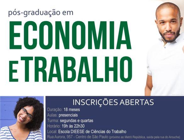Pós-graduação em Economia e Trabalho