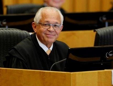 João Batista Brito Pereira na presidência do Tribunal Superior do Trabalho (TST)