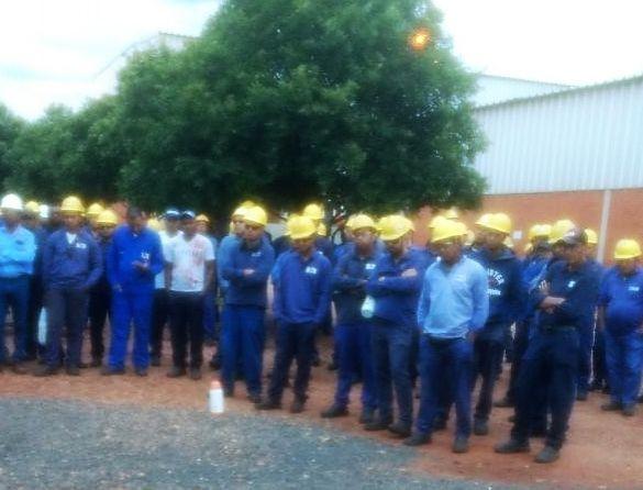 Assembleia da campanha salaria do setor do etanol  na Usina Ipiranga