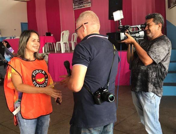 Vera Lap-  Secretaria da Mulher da Força Sindical do Maranhão