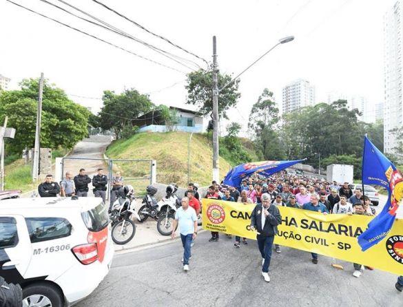 greve construção civil
