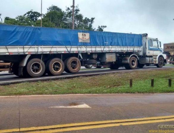 Greve dos caminhoneiros na Argentina