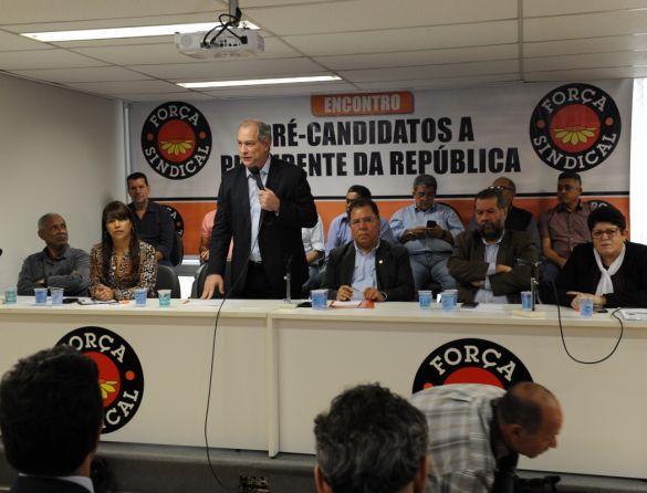 Encontro com os presidenciáveis - CIRO GOMES (PDT)
