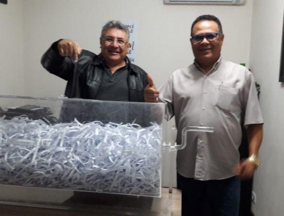 A ação faz parte da campanha permanente de sindicalização e também de valorização dos   frentistas associados do Sinpospetro-Osasco/SP.