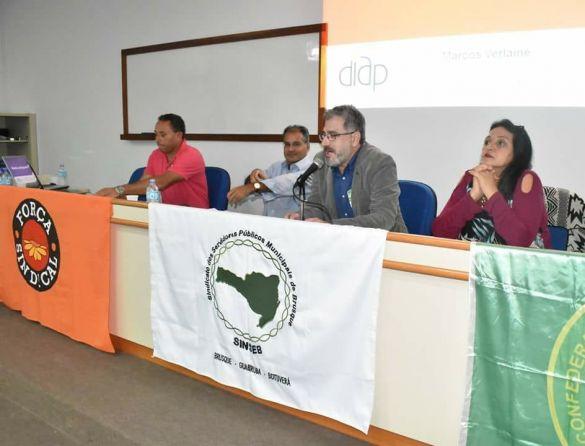 Reunião de servidores de todo o país filiados a Força Sindical