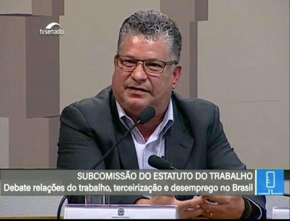 Serginho participa de debate na subcomissão do Senado