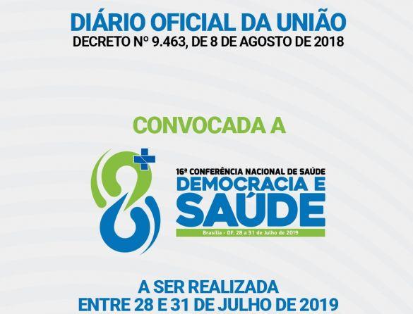 16 conferencia nacional de saude 2019