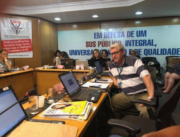 310ª reunião do CNS discute exame toxicológico no trânsito